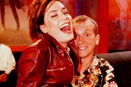 Tara Palmer Tomkinson appears on The Frank Skinner Show