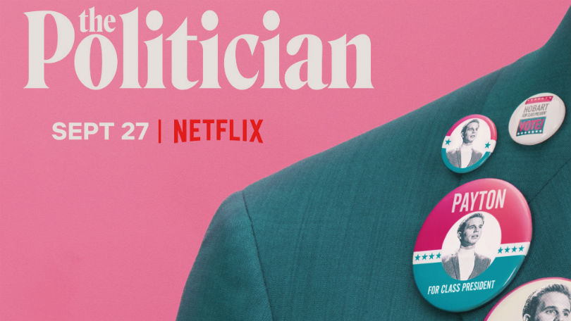 The Politician key art