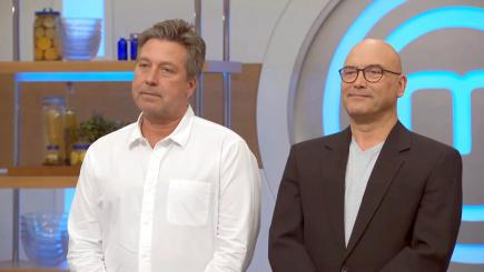 Two get the boot in Celebrity MasterChef semi-final over poor puddings