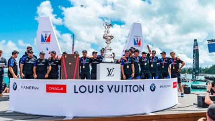 Video: Emirates Team New Zealand win America's Cup