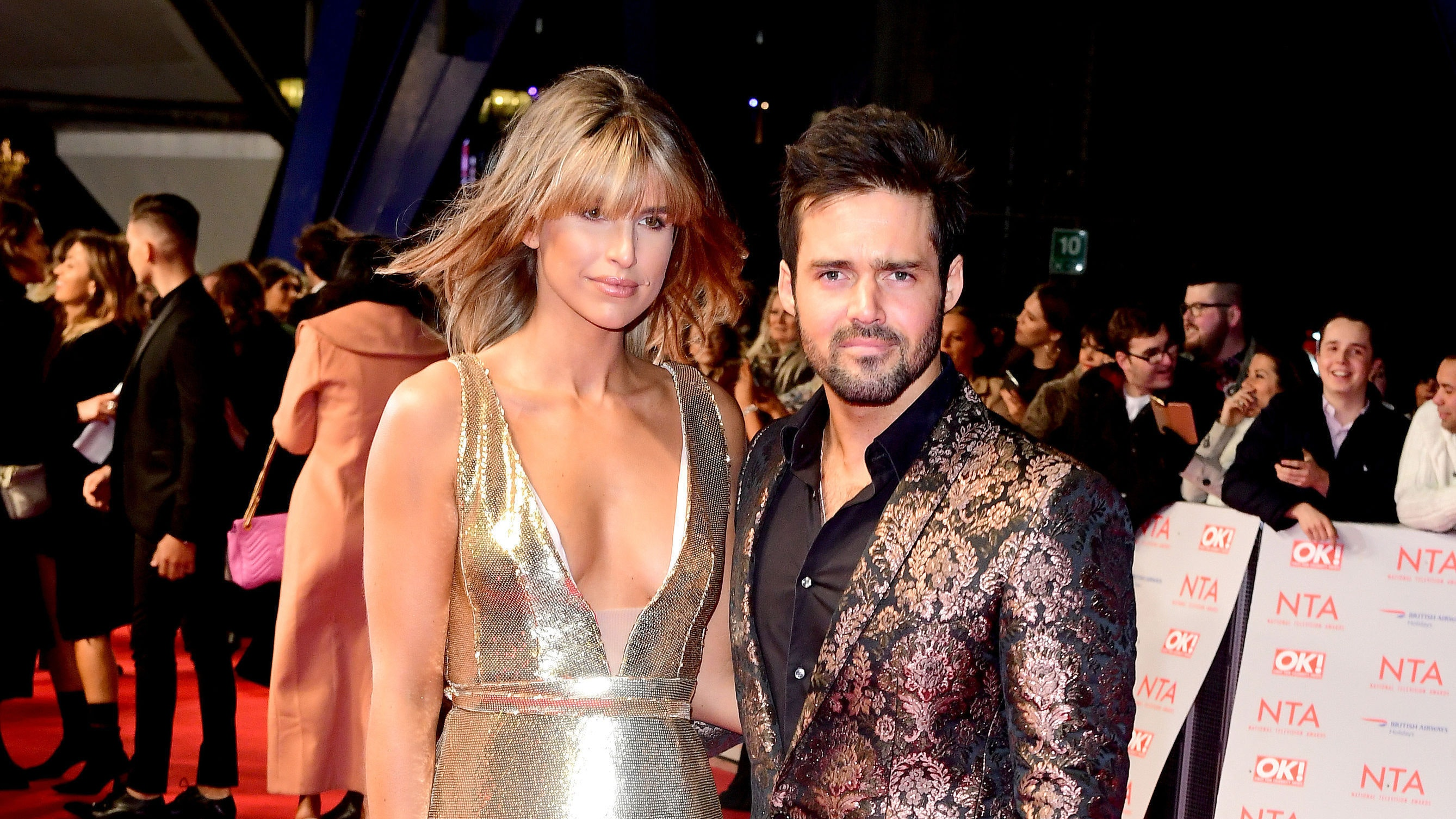Vogue Williams and Spencer Matthews reveal baby news