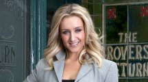 Watch Corrie star Catherine Tyldesley sing 'happy birthday' in the style of Marilyn Monroe