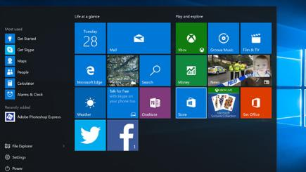 Windows 10 has a redesigned interface with the return of the Start screen