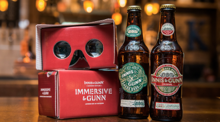 You can now get your beer served with a side of virtual reality