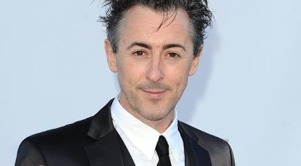 Alan Cumming says he googles naked images of actors he has sex scenes with