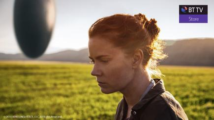 Arrival on BT TV Store with Amy Adams
