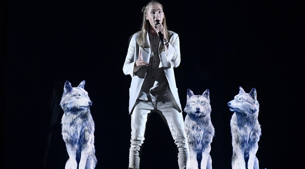 Eurovision 2016 Belarus Singer Ivan Appeared Naked On Stage With A Wolf Because Of -8866