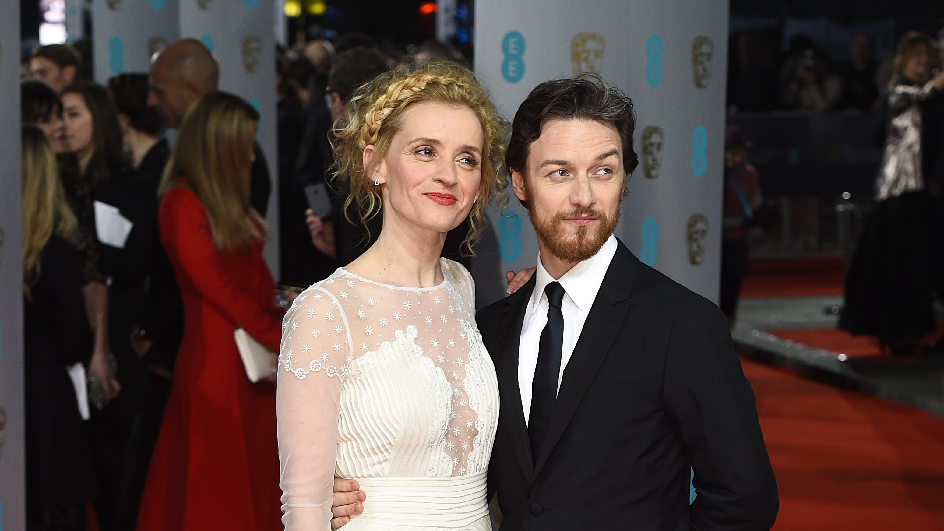 James McAvoy and ex-wife Anne-Marie Duff cast in BBC's His ...