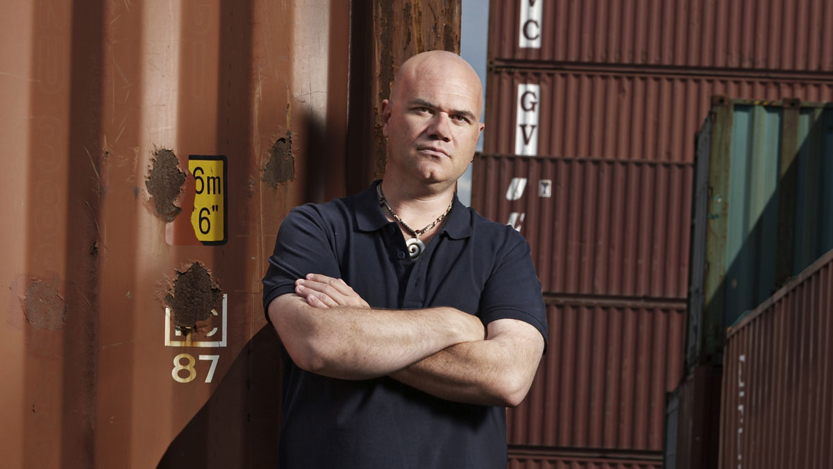 it s antiques roadshow meets wwe we speak to storage hunters uk s sean kelly about the high octane auction show bt storage hunters uk s sean kelly