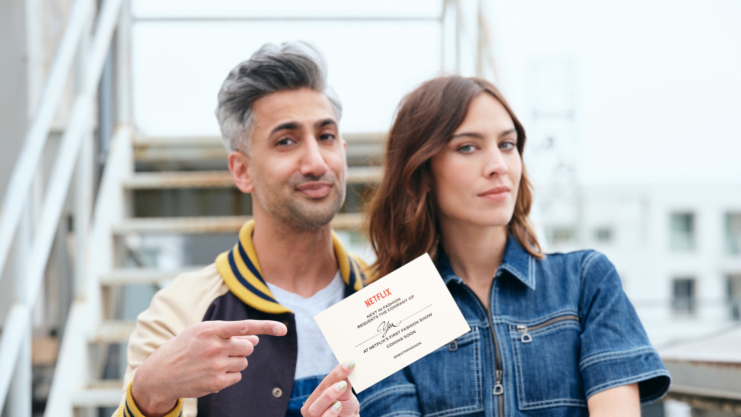 Tan France And Alexa Chung Share Pressures Of New Netflix Fashion Show Bt