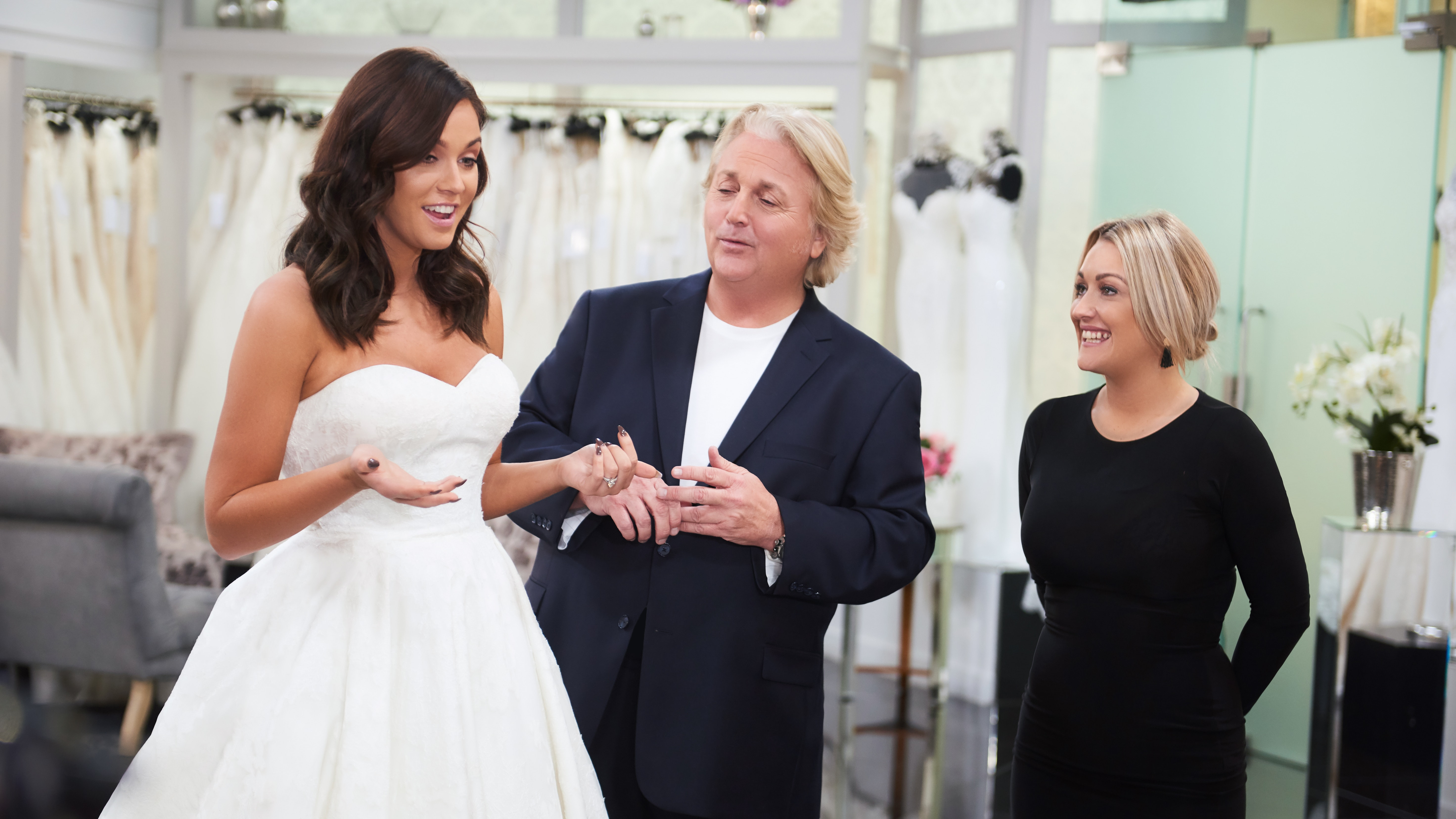 Vicky Pattison Discovers What Is Too Sexy While Wedding Dress