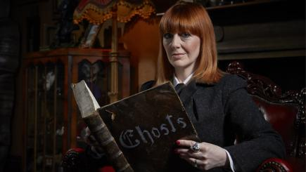 Yvette Fielding in Most Haunted